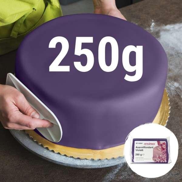 Farbiger Fondant violett 250 g