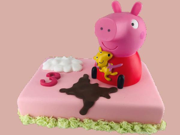 Tortendeko Spardose Peppa Pig