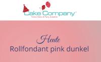 Farbiger Fondant dunkel pink 250 g