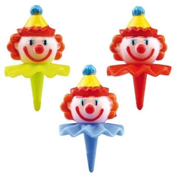 Tortendekoration Clown Kopf Picker Motivtorte