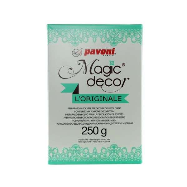 Magic Decor 250gr Pulver zur Herstellung Spitzendekoration