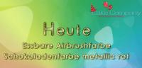 Airbrushfarbe metallic rot AZOFREI