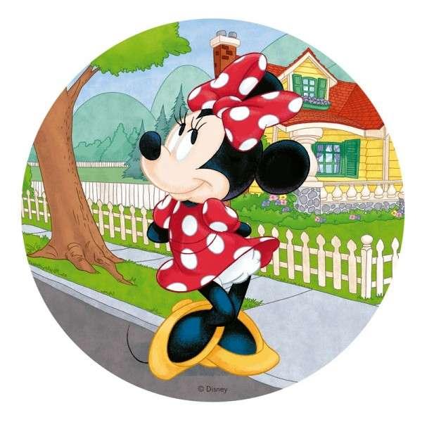 Esspapier Minnie Maus 20 cm 12 Stück