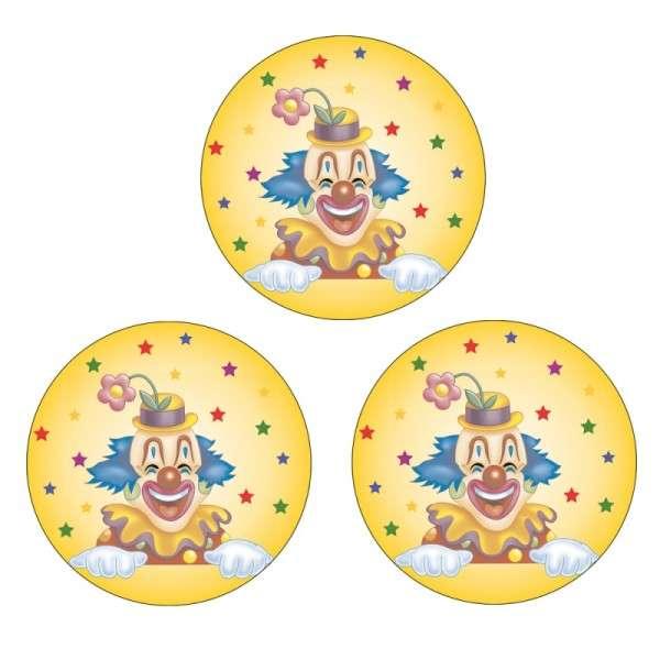 Zuckeraufleger Clown 40mm 96 Stck