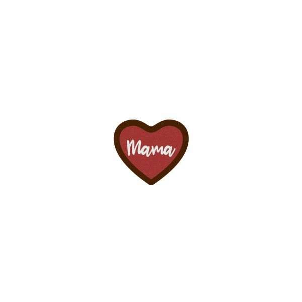 Schokoladenherz Mama