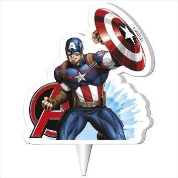 Captain America Kerze 7,0cm
