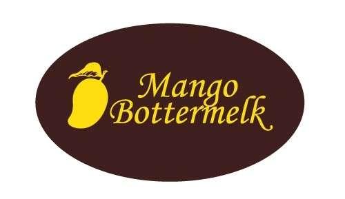 Tortendekoration Schokoladenaufleger Mango -Bottermelk