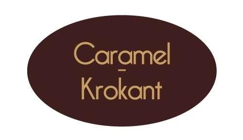 Tortendekoration Schokoladenaufleger Caramel-Krokant
