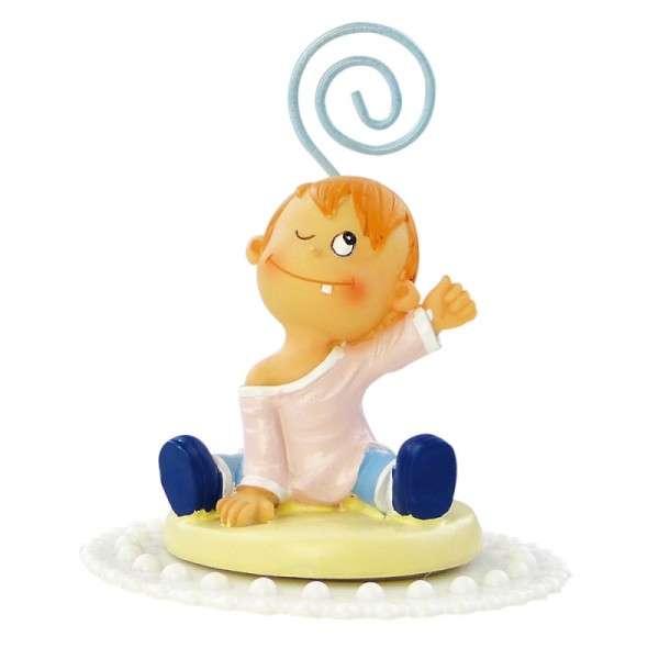 Tortendekoration Tischdekor Baby mit Clip