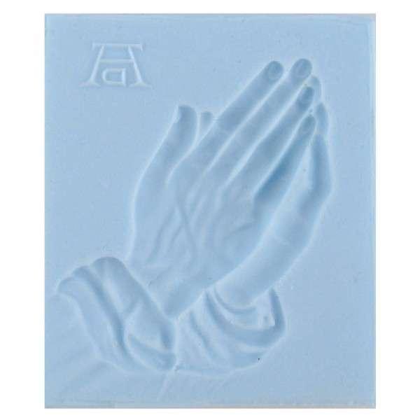 Silikonform betende Hände 11 x 9 x 1,2 cm