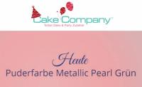 Puderfarbe Metallic Pearl grün 25 gr