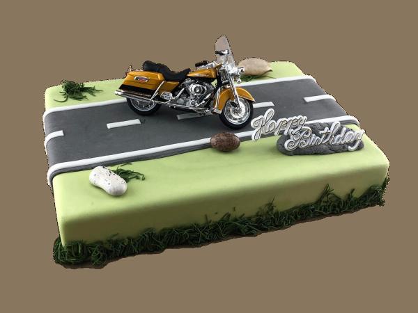 Motivtorte Harley Davidson