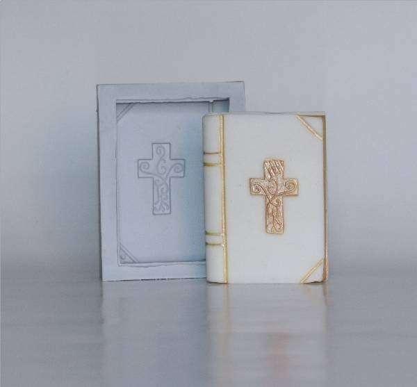 Silikonform Gebetbuch 10 x 8 x 2,5 cm