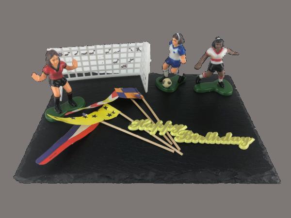 Tortendekoration Frauen Fussball