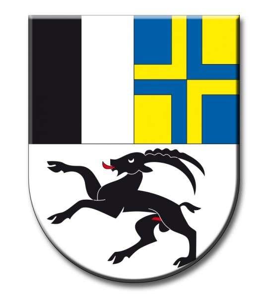 Zuckeraufleger Wappen Graubünden