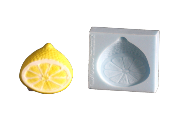 Silikonform Zitrone