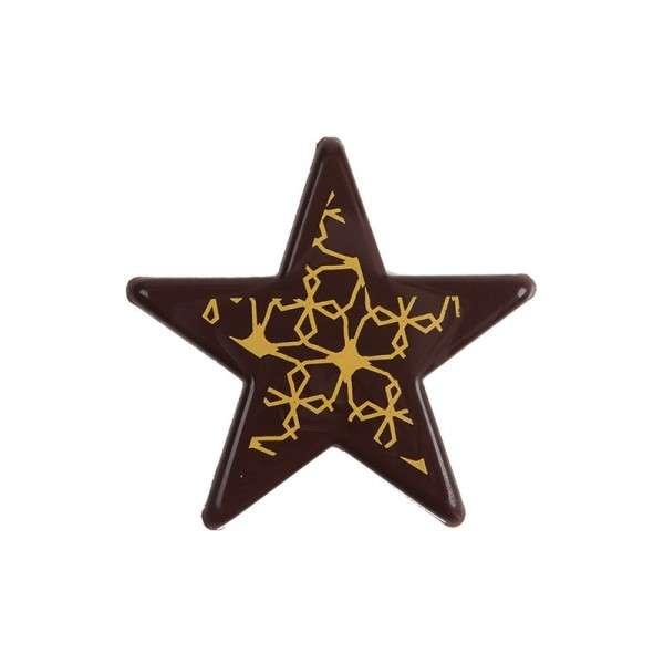 "Schokoladen ""Sterne gold"" ca.55mm 60 Stck"