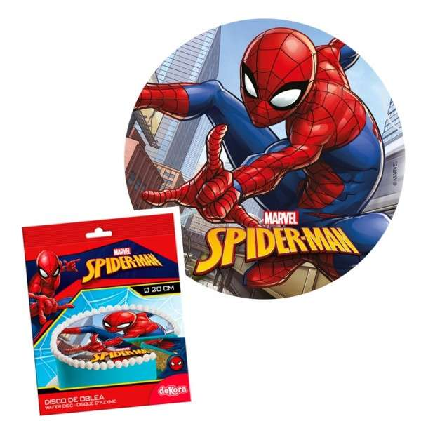Esspapieraufleger Spiderman