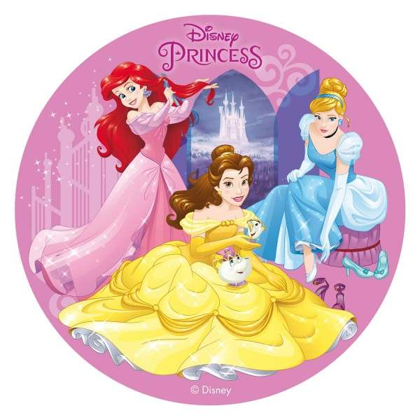 Esspapieraufleger 20cm Princess