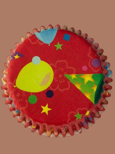 Muffinförmchen Geburtstag 50 Stück 50 x 35 mm