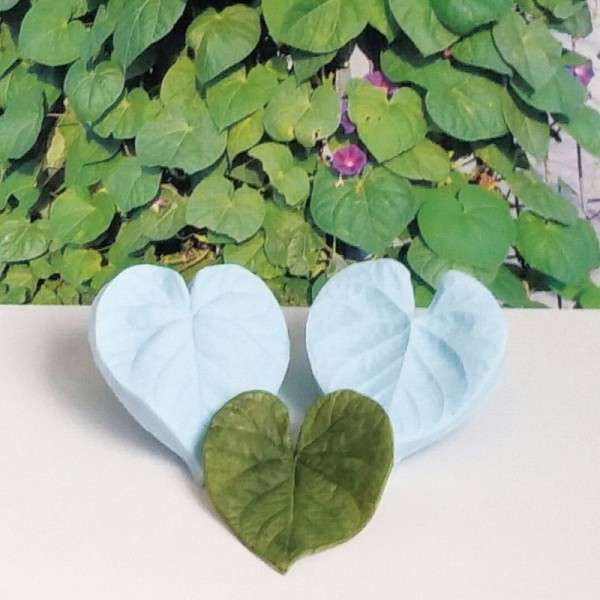 "Veiner ""Prunkwinde Blatt L"" ca. 7 x 6,5 cm ( Morning Glory,leaf L)"