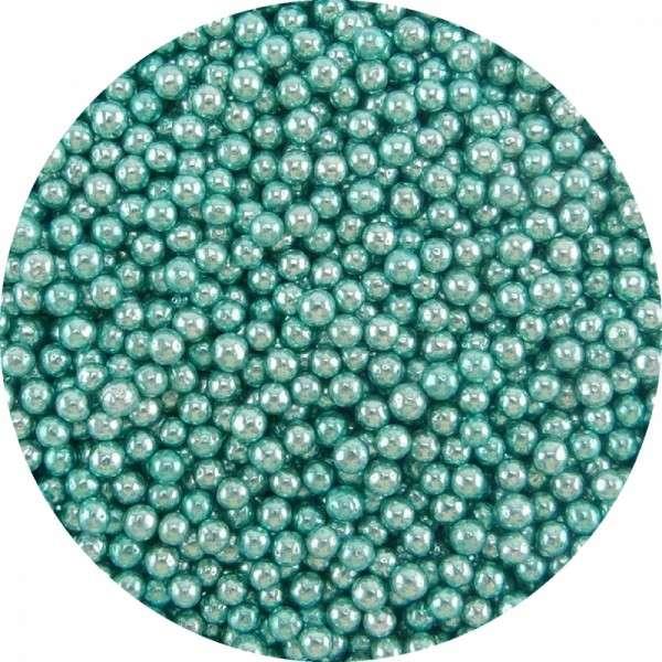 Zuckerperlen Metallic Blau ca.2,5-3mm 950g
