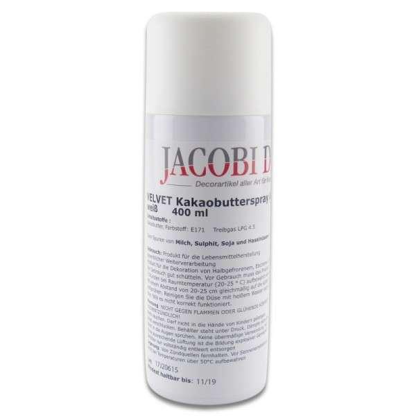 Velvet Spray Weiß, azofrei, 400 ml