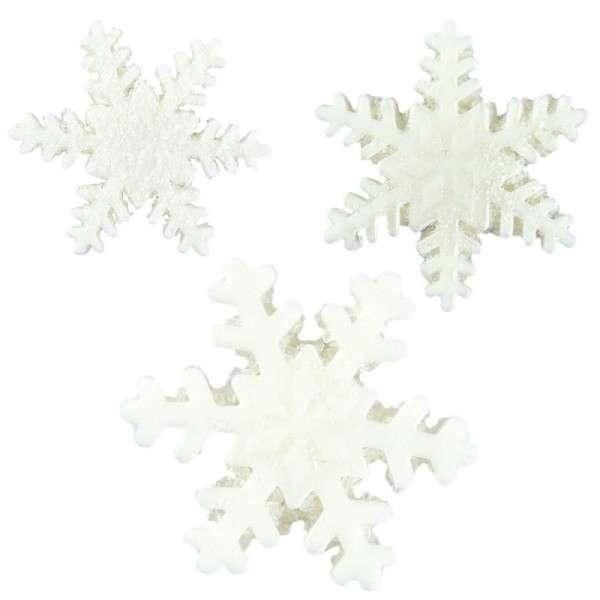 Zuckerdekoration Schneeflocken