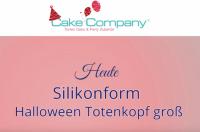 """Silikonform """"Totenkopf groß"""" ca.7,2 x 7 x 4,5cm Kopf ca. 6 cm"""