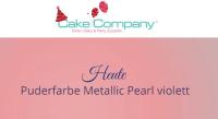 Puderfarbe Metallic Pearl violett 25 gr