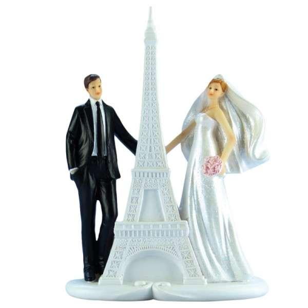 Brautpaar am Eifelturm