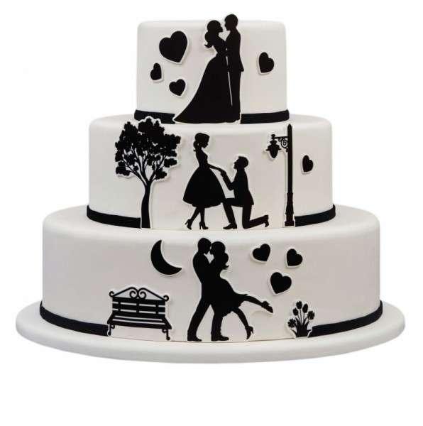 Kuchen Tattoo Hochzeit