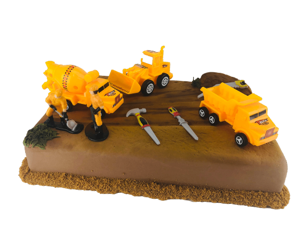 Tortendekoration Baufahrzeuge