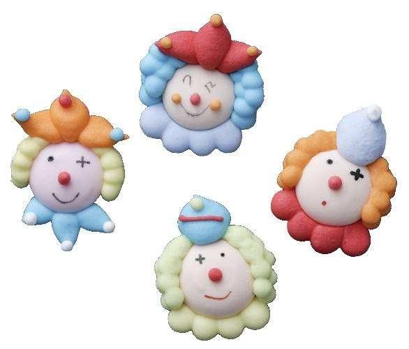 Zuckerdekoration Clowns