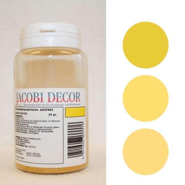 Puderfarbe Gelb, 25g, fettlöslich & azofrei