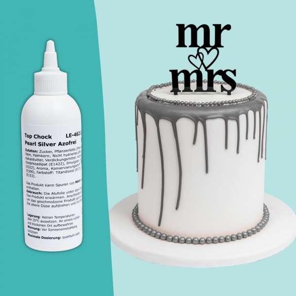 Top Chock Drip Cake Silber Titelbild