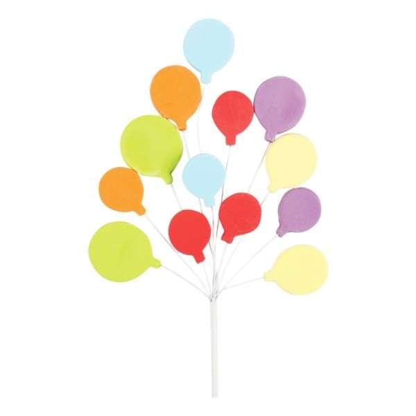 Zuckerdekoration Luftballons