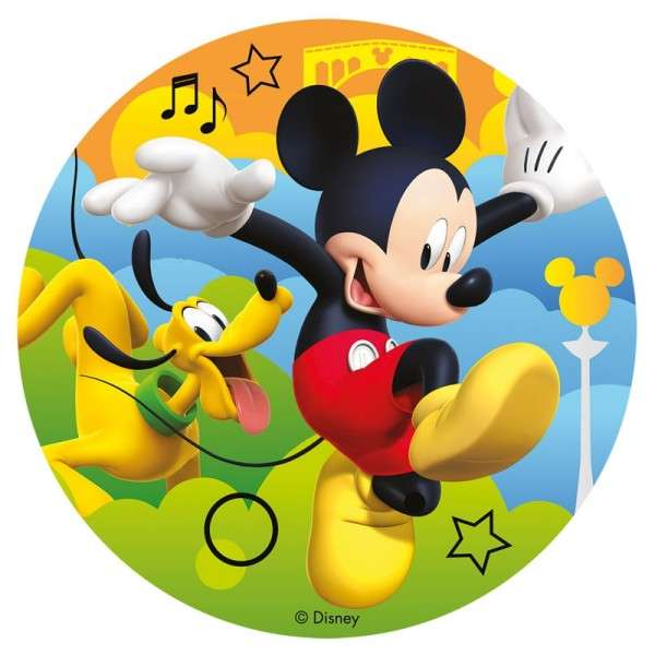 Zuckeraufleger Mickey Mouse