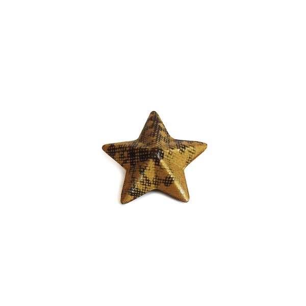 Weihnachtsschokolade Stern