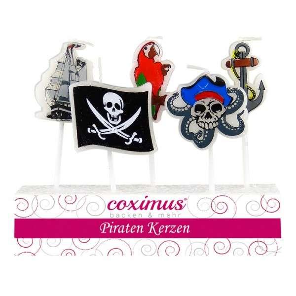 Tortendekoration Kerze Piraten Motivtorten Dekoration