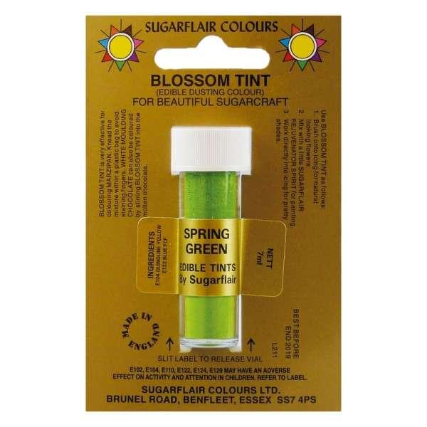 Blossom Tint-Blütenfarbe Spring Green-Frühlingsgrün Puderfarbe 7g