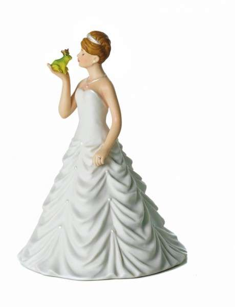 Hochzeitsfiguren Braut Froschkönig