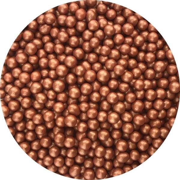 Chocoballs Metallickupfer klein