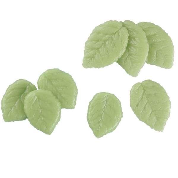 Marzipanblätter groß grün 45mm 120 Stck