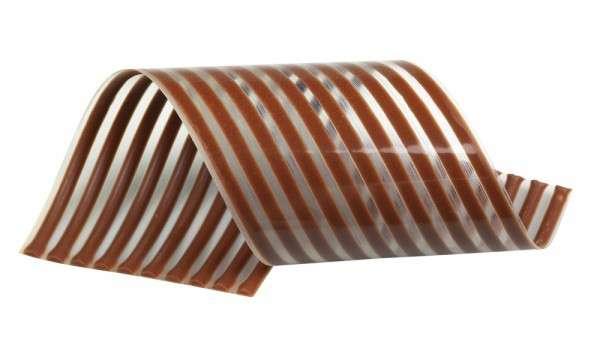 "Schokoladendekor"" Spirelli Milchschokolade"" ca.140mm 24 x10 Stck"