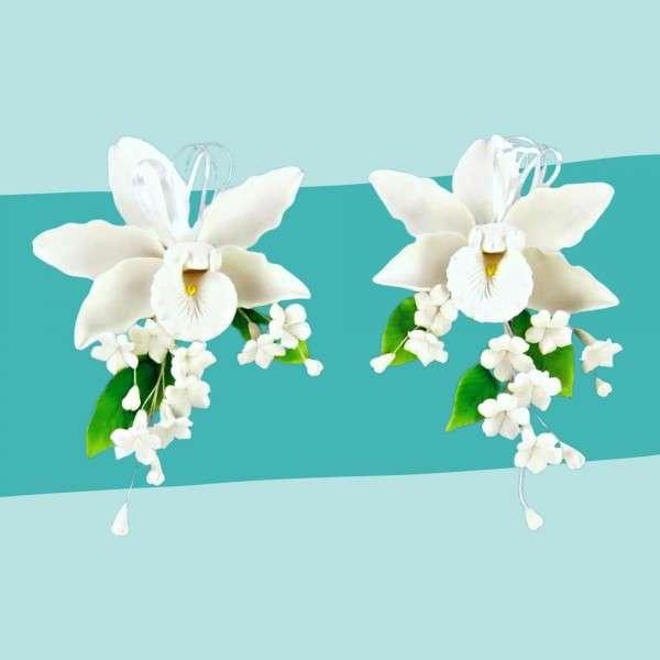 Zuckerblumenbouquet Orchideen Vorschaubild