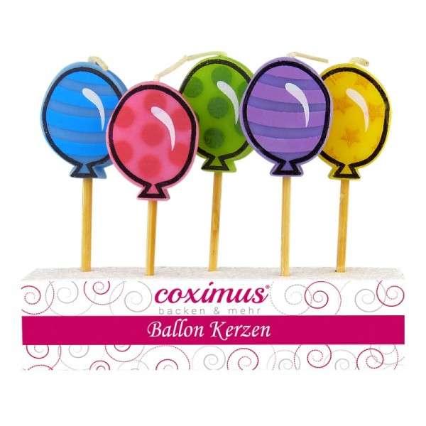 Motivtorten Dekoration Kerzen Luftballon Tortendekoration