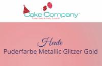 Puderfarbe Metallic Pearl glitzer gold 25 gr