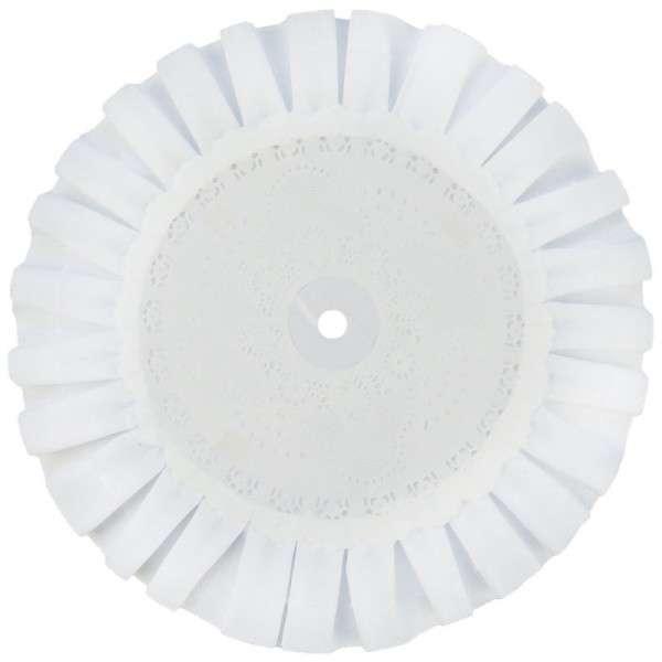 TORTENPLATTE MIT SPITZE weiß rund 180mm 1 Stck