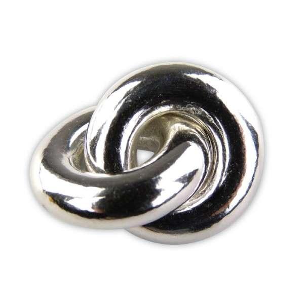 Ringe aus Zucker, Silber, 10 Stk.